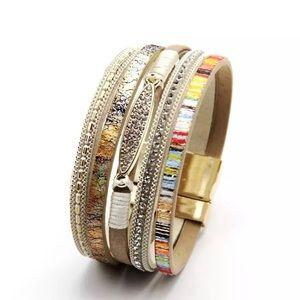Jewelry - NEW BOHO LEATHER WRAP BRACELET